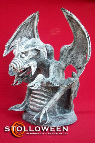 gargoyle-red-background-3