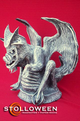 gargoyle-red-background-4