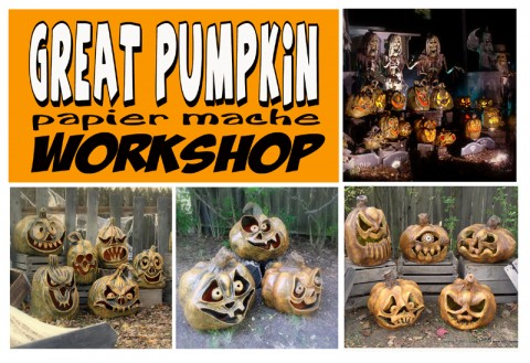 Great Pumpkin Papier Mache Workshop