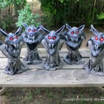 EVIL LITTLE BAT MINIONS GROUP (3)