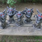 EVIL LITTLE BAT MINIONS GROUP (4)