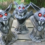 EVIL LITTLE BAT MINIONS GROUP (7)