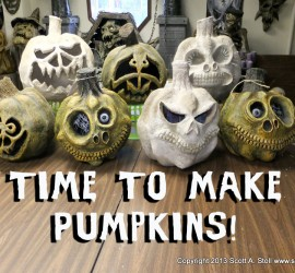 TIME TO MAKE PUMPKINS