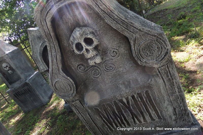how to chunky tombstones