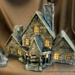 HAUNTED BUILDING MINIATURES (1)