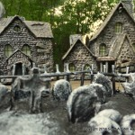 HAUNTED BUILDING MINIATURES (13)