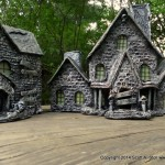 HAUNTED BUILDING MINIATURES (15)
