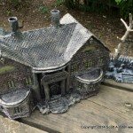 HAUNTED BUILDING MINIATURES (16)