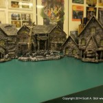 HAUNTED BUILDING MINIATURES (7)