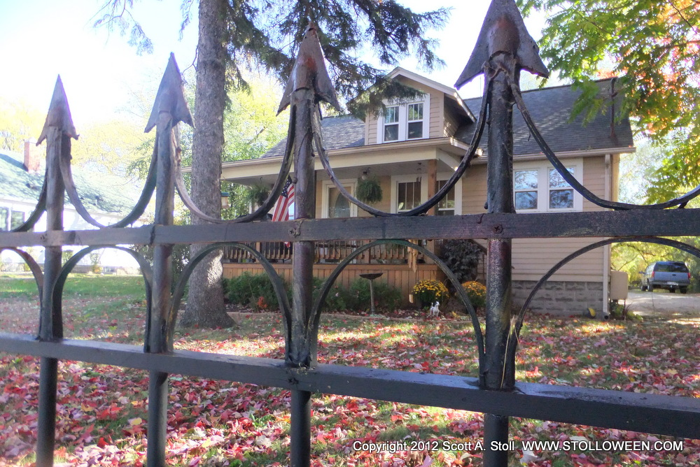 How To Faux Wrought Iron Fence